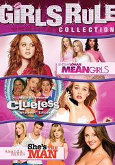 Girls Rule Collection (Mean Girls / Clueless / She's the Man) (Triple Feature)(Boxset)