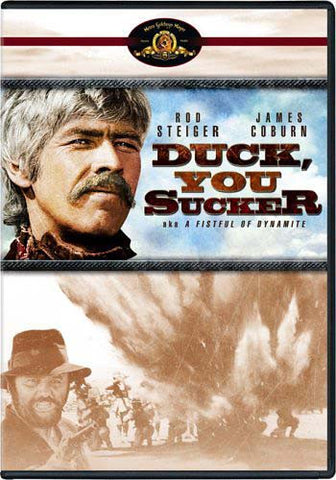 Duck, You Sucker (aka A Fistful of Dynamite) (MGM) (Bilingual) DVD Movie