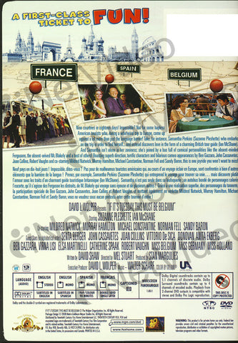 If It s Tuesday, This Must Be Belgium (Bilingual) DVD Movie