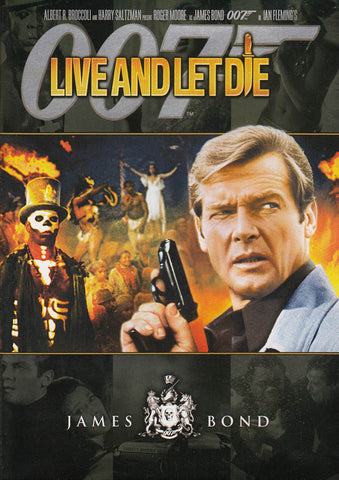 Live and Let Die (Black Cover) (James Bond) DVD Movie