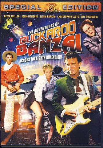 The Adventures of Buckaroo Banzai (Special Edition) (MGM) DVD Movie