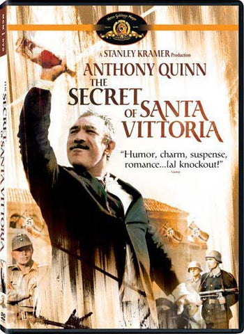 The Secret of Santa Vittoria (Bilingual) DVD Movie