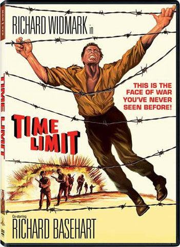 Time Limit DVD Movie