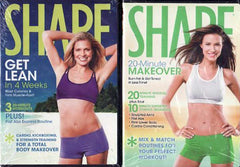 Shape 2 Pack DVD Set Get Lean in 4 Weeks / 20 Minute Makeover (Boxset)