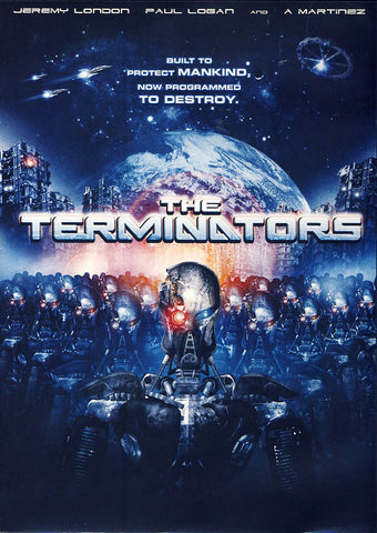 The Terminators DVD Movie