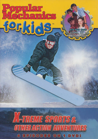 Popular Mechanics for Kids: X-Treme Sports & Other Action Adventures DVD Movie