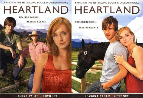 Heartland - Complete First Season (1) - Part 1 and 2 (2 pack) DVD Movie