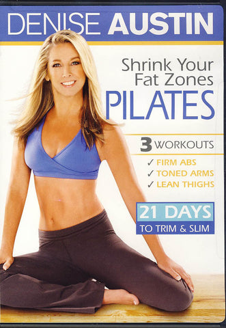 Denise Austin - Shrink Your Fat Zones Pilates (LG) DVD Movie