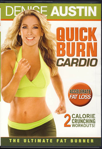 Denise Austin - Quick Burn Cardio (Lion s Gate Release) DVD Movie