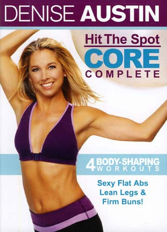 Denise Austin - Hit the Spot - Core Complete (LG) DVD Movie