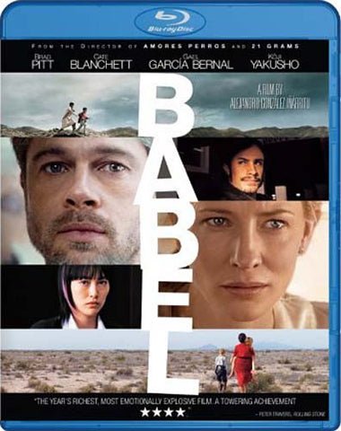 Babel (Blu-ray) BLU-RAY Movie