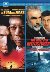 The Sum of All Fears / The Hunt for Red October (Double Feature) (Bilingual)
