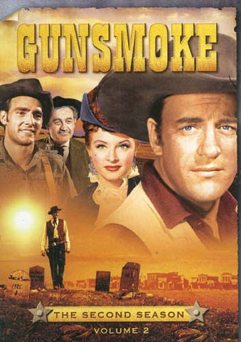 Gunsmoke The Second Season, Vol. 2 (Boxset) DVD Movie