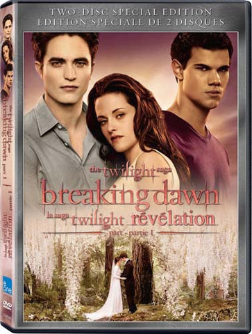 The Twilight Saga - Breaking Dawn - Part I (Two-Disc Special Edition)(Bilingual) DVD Movie