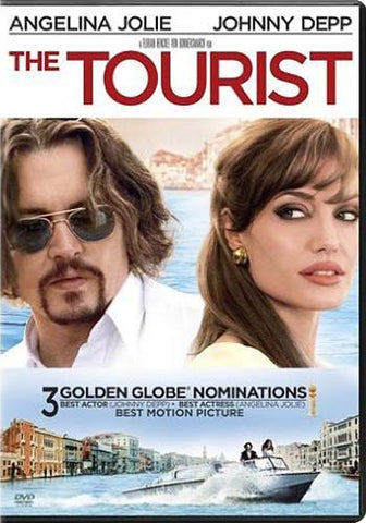The Tourist DVD Movie