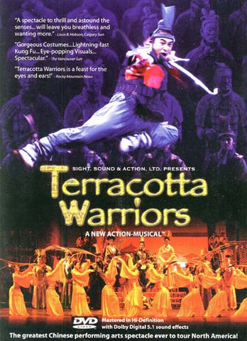 Terracotta Warriors DVD Movie