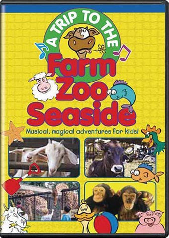 A Trip to the Farm, Zoo, Seaside DVD Movie