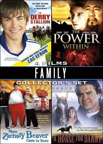 Family 4 Film Collector s Set DVD Movie