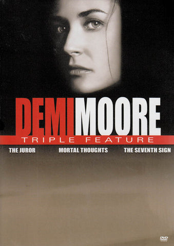 Demi Moore (The Juror / Mortal Thoughts / The Seventh Sign) (Keepcase) DVD Movie