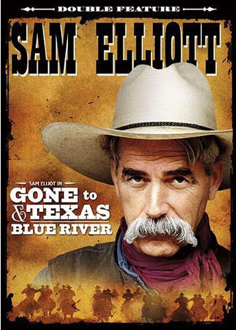 San Elliott - Gone to Texas / Blue River (Double Feature) DVD Movie