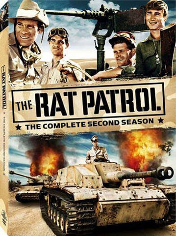 The Rat Patrol - The Complete Second Season (Boxset) DVD Movie