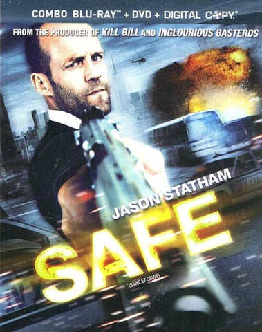 Safe (DVD+Blu-Ray Combo + Digital Copy) (Blu-ray) (Slipcover) BLU-RAY Movie