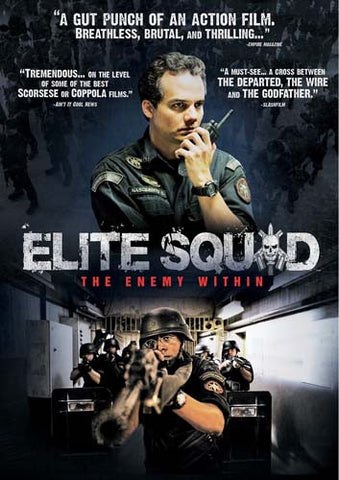 Elite Squad - The Enemy Within DVD Movie