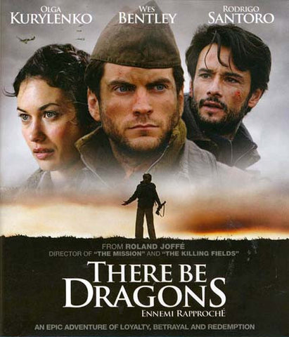 There Be Dragons DVD Movie