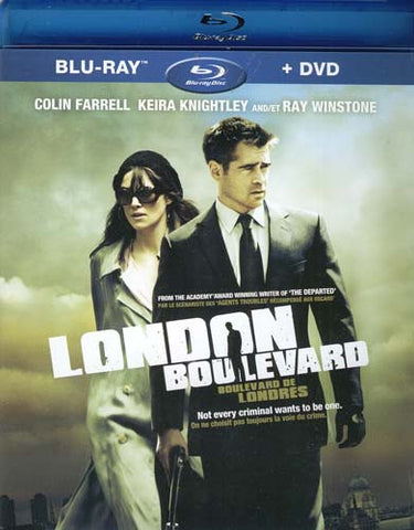 London Boulevard (DVD+Blu-ray Combo) (Bilingual) (Blu-ray) BLU-RAY Movie