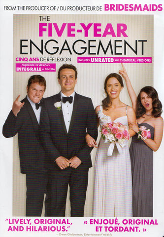 The Five Year Engagement (Bilingual) DVD Movie
