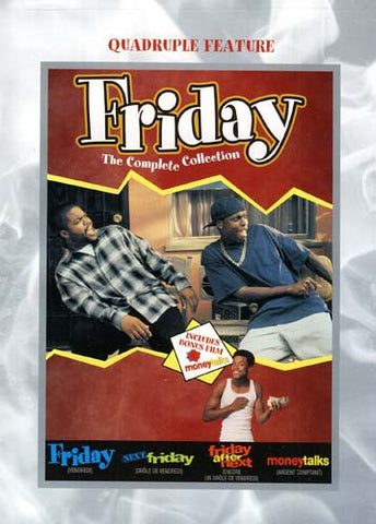 Friday Collection (Friday/Next Friday/Friday After Next/Money Talks) (Bilingual) DVD Movie