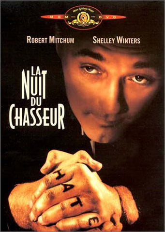 La Nuit du chasseur (Night of the Hunter) (FRENCH) DVD Movie