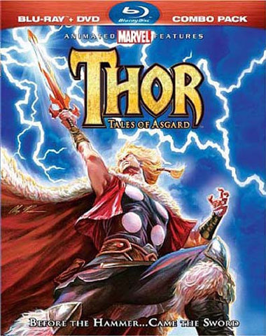 Thor: Tales of Asgard (Two-Disc Blu-ray/DVD Combo) (Blu-ray) (Slipcover) BLU-RAY Movie