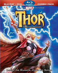 Thor: Tales of Asgard (Two-Disc Blu-ray/DVD Combo) (Blu-ray) (Slipcover)