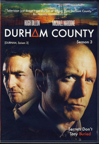 Durham County - season 3 (Bilingual) DVD Movie