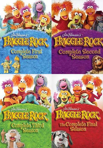 Fraggle Rock: The Complete Series Collection (Bundle Pack) (Boxset) DVD Movie