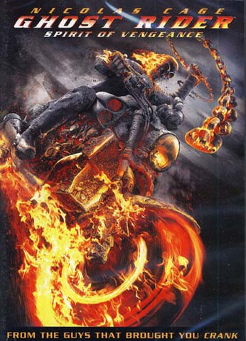 Ghost Rider Spirit of Vengeance DVD Movie