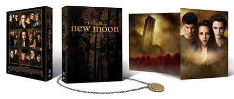 The Twilight Saga: New Moon Two-Disc DVD Gift Set with Charm Necklace and Bonus Features (Boxset) DVD Movie