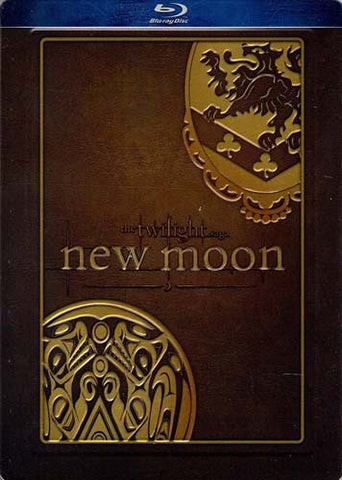 The Twilight Saga: New Moon (Steelbook Special Edition) (Blu-ray) BLU-RAY Movie