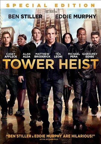 Tower Heist (Special Edition)(Bilingual) DVD Movie