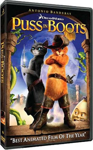 Puss in Boots DVD Movie