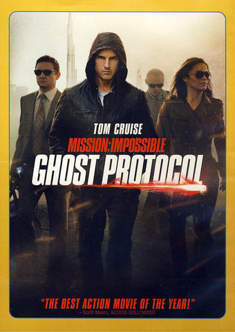 Mission: Impossible - Ghost Protocol DVD Movie