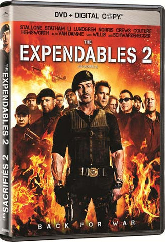 The Expendables 2 (Bilingual) DVD Movie