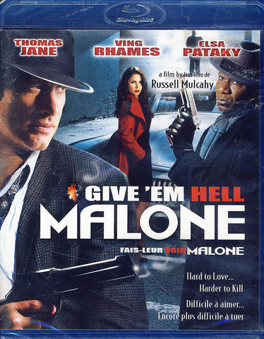 GiveEm Hell Malone (Bilingual)(Blu-ray) BLU-RAY Movie
