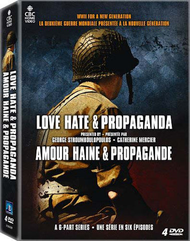 Love Hate & Propaganda (Boxset) DVD Movie