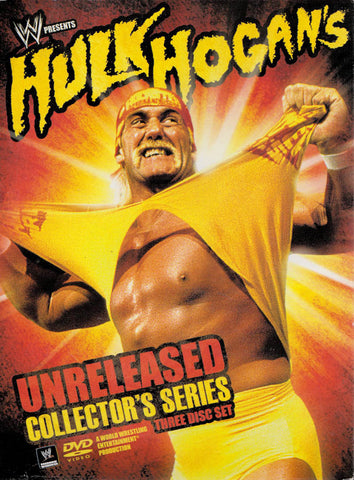 Hulk Hogan s Unreleased Collector s Series (WWE) (Boxset) DVD Movie