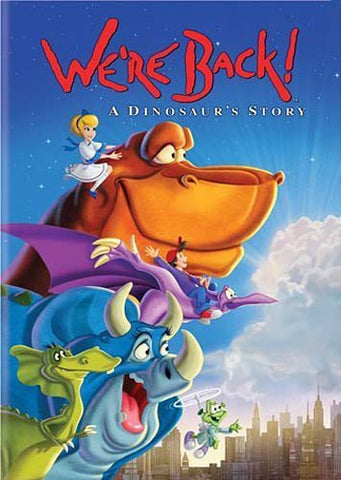 We Re Back! a Dinosaurs Story DVD Movie