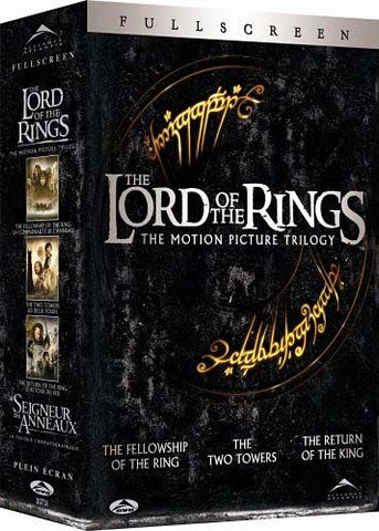 The Lord Of The Rings - The Motion Picture Trilogy (Fullscreen) (Boxset) DVD Movie