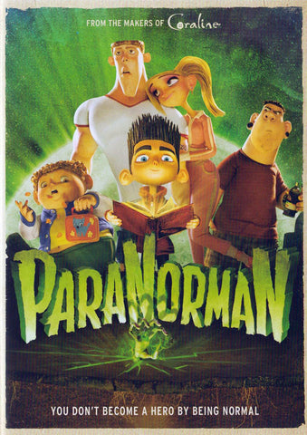 ParaNorman DVD Movie