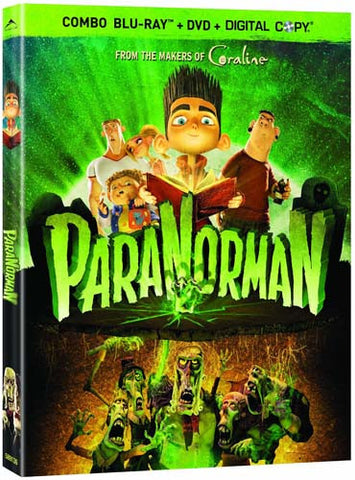 ParaNorman (Blu-ray + DVD + Digital Copy) (Bilingual) (Blu-ray) BLU-RAY Movie
